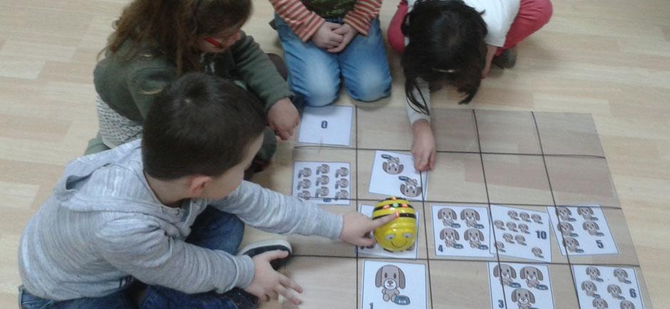 Clases extraescolares de robótica para alumnos de infantil