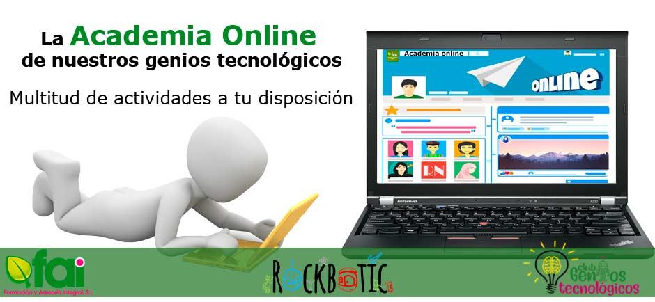 Clases online de robótica educativa
