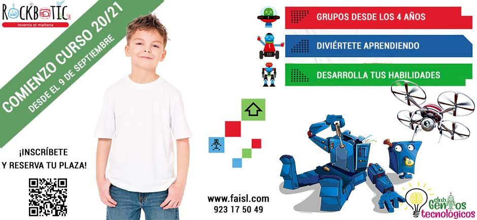 Comienzo curso lases extraescolares de robótica educativa en Salamanca