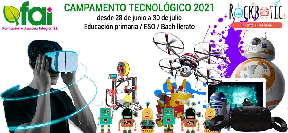 Campamento tecnológico verano 2021 en Salamanca